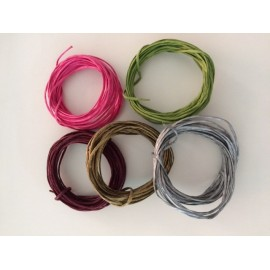 Paper wire (set of 5 colours, 5 metres each).