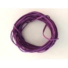 Alambre de papel 1 color x 5 metros. Color: Púrpura