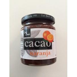Mermelada de frambuesa con cacao