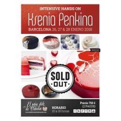 1er pago Master Class de 3 días 26, 27 y 28/01/18 con Ksenia Penkina