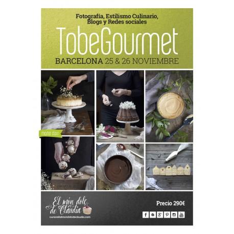 Master Class Fotografía, Estilismo Culinario, Blogs y Redes sociales 25 y 26/11 con TobeGourmet