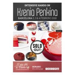 1er pago Master Class de 3 días 02, 03 y 04/02/18 con Ksenia Penkina