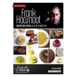 """1er pago """"Hands On Pastry Class"""" de 3 días 04, 05 y 06/05/18 con Frank Haasnoot"""