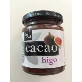 Mermelada de higo con cacao