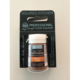 Colorante en polvo profesional castaño Squires Kitchen