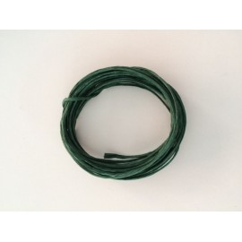 Paper wire x 5 metres. Colour: Dark Green