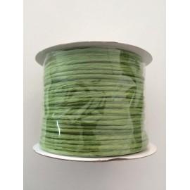 Alambre de papel color verde oliva