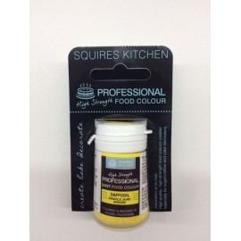 Colorante en polvo profesional amarillo Squires Kitchen