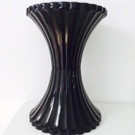Taburete negro 31 cm