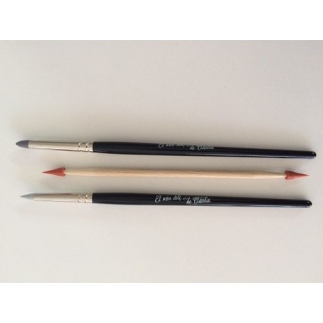 Modelling brushes (set of 3)