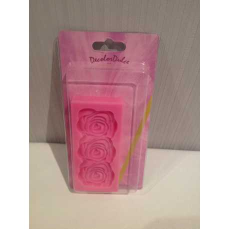 Silicone rose mold Decolor Dulce