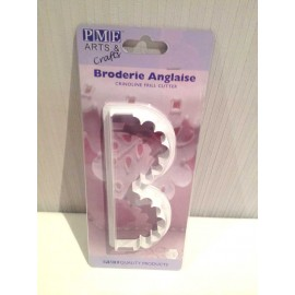 Broderie Anglaise Crinoline Frill Cutter PME