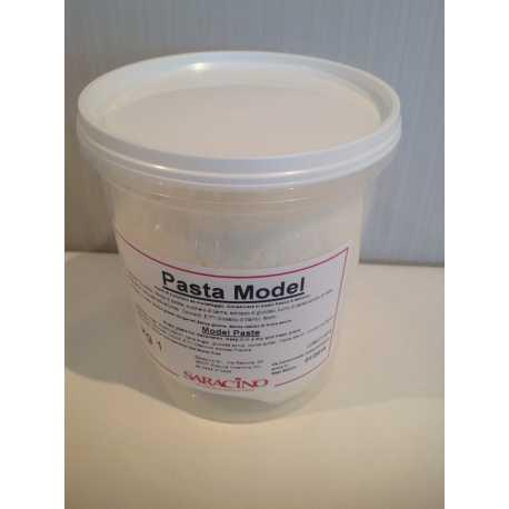 Pasta de modelar Saracino Blanco x 1 kg