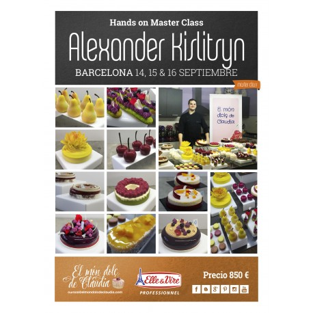 1er pago Master Class de 3 días 14, 15 y 16/09/18 con Alexander Kislitsyn