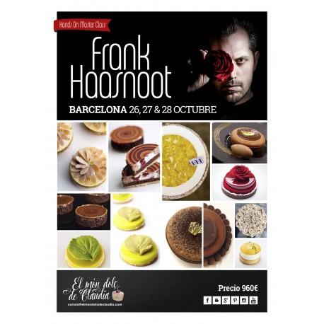 """1er pago """"Hands On Pastry Class"""" de 3 días 26, 27 y 28/10/18 con Frank Haasnoot"""