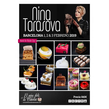 2do pago Hands On Master Class de 3 días 01, 02 y 03/02/19 con Nina Tarasova
