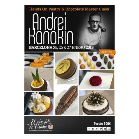 1er pago Hands On Master Class de 3 días 25, 26 y 27/01/19 con Andrei Kanakin
