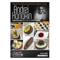 2do pago Hands On Master Class de 3 días 25, 26 y 27/01/19 con Andrei Kanakin