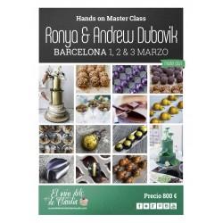1er pago Hands On Master Class de 3 días 01, 02 y 03 de Marzo con Ronya y Andrew Dubovik