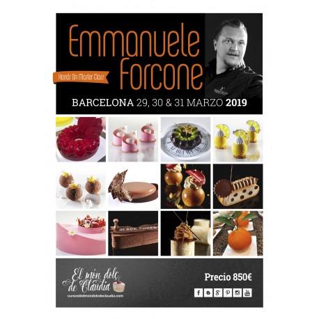 1er pago Master Class de 3 días 29, 30 y 31/03/19 con Emmanuele Forcone