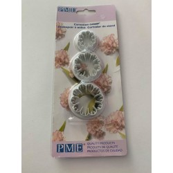 Carnation Cutter PME (set of 3)