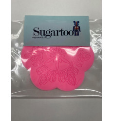 Silicone mould for lace