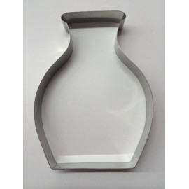 Cookie cutter vase