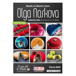 Master Class de 3 días 18, 19 y 20/10/19 con Olga Noskova