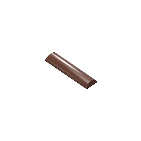 Molde de policarbonato para bombones praline curvado Chocolate World
