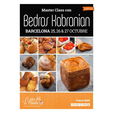 1er pago Hands on Master Class de 3 días 25, 26 y 27/10/19 con Bedros Kabranian