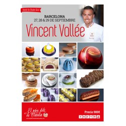 1st payment 3 days Master Class 20, 21 & 22/09/19 with Vincent Vallée