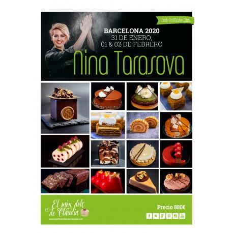 2do pago Hands On Master Class de 3 días 31/01, 01/02 y 02/02/20 con Nina Tarasova