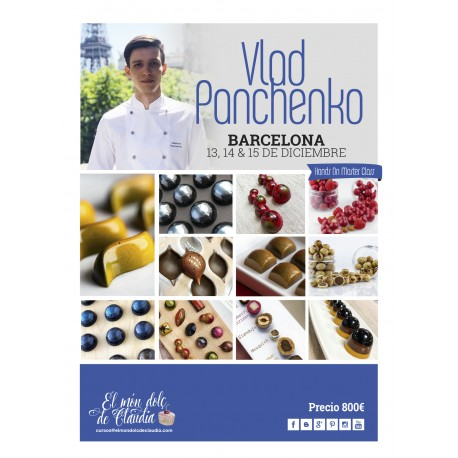 2do pago Hands On Master Class de 3 días 13, 14 y 15/12 con Vladislav Panchenko