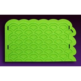 Scalloped Lattice Silicone Onlay®