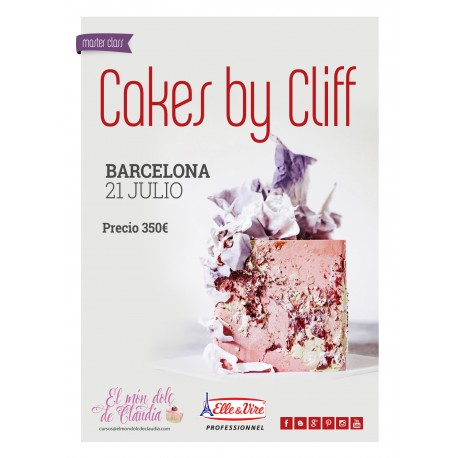 Master Class 21/07/19 con Cakes by Cliff