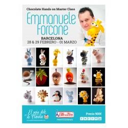 Hands on Chocolate Master Class de 3 días 28/02, 29/02 y 01/03/20 con Emmanuele Forcone