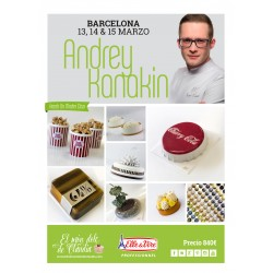 2nd payment 3 days Hands on Master Class 13, 14 & 15/03/20 with Andrey Kanakin