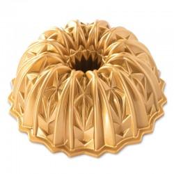 Crystal Bundt Pan Nordic Ware - Gold
