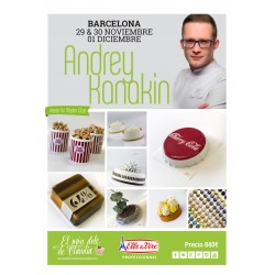 Hands on Master Class de 3 días  29/11, 30/11 & 01/12/19 con Andrey Kanakin