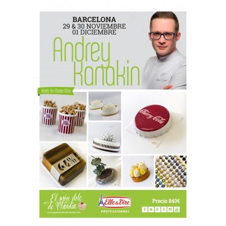Hands on Master Class de 3 días  29/11, 30/11 & 01/12/19 con Andrey Kanakin